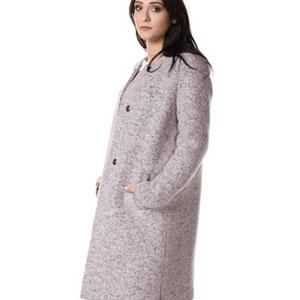 Ciepły wełniany płaszcz na jesień