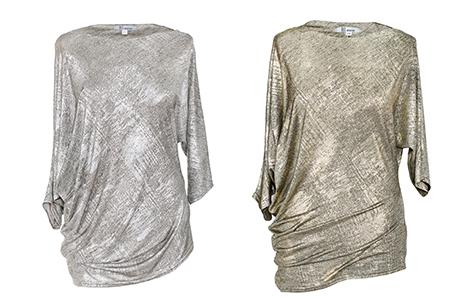 złota i srebrna sukienka