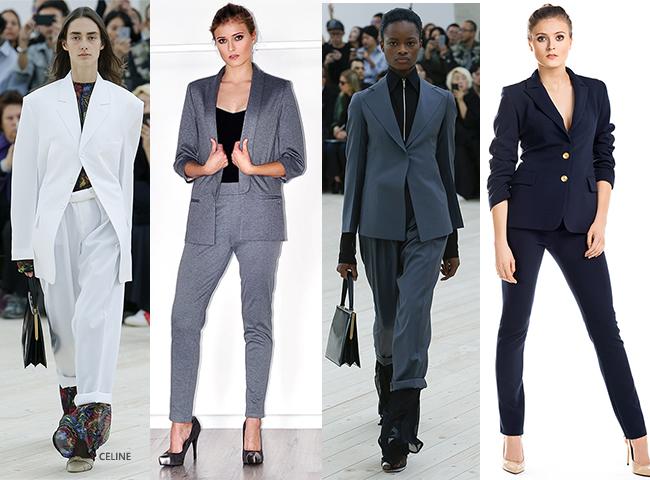 Trendy wiosenne, damski garnitur