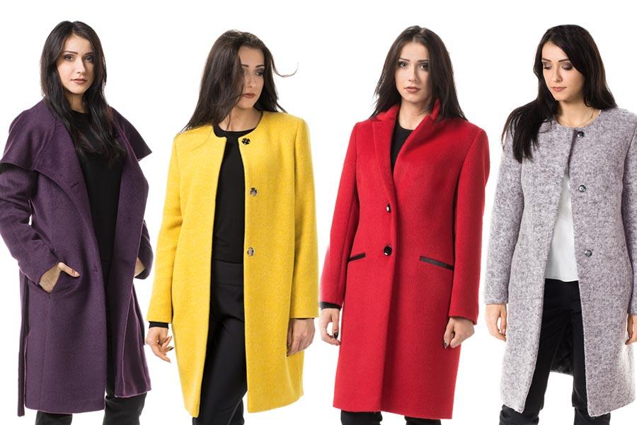 Kolorowe płaszcze na jesień i zimę