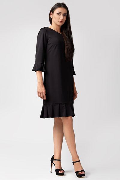 prosta-czarna-sukienka-z-falabanami-julita-bee-collection
