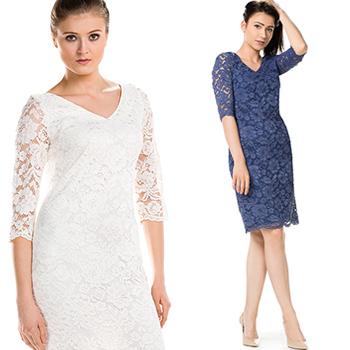 Sukienki dla druhny, świadkowej, eleganckie, wizytowe trendy 2018