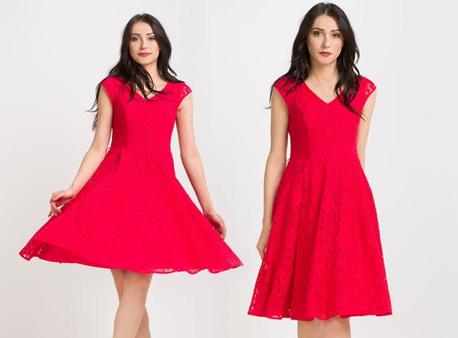 Rozkloszowane letnie sukienki, takie jak Malina, są teraz bardzo na czasie
