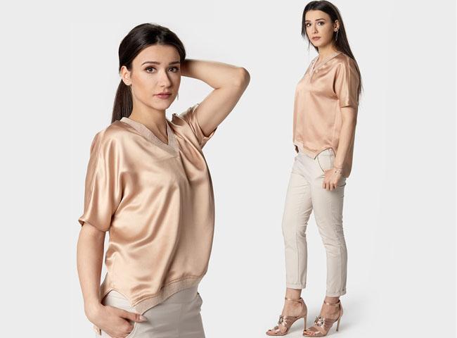 Co założyć na imprezę firmową? Spodnie SEJNY i bluzka ELSA stworzą doskonałe połączenie