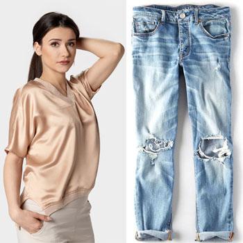 jak nosić boyfriend jeans