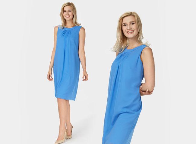sukienki letnie codzienne - zwiewna DOLORES jest idealna na upalne dni
