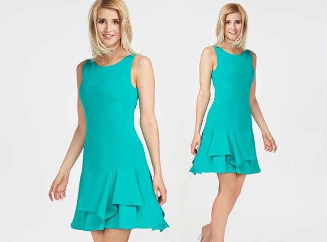 Sukienki letnie bez rękawów - sportowa mini na co dzień i na eleganckie wyjście