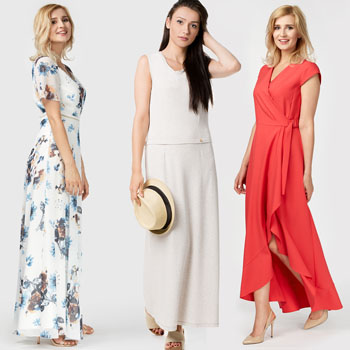 sukienki letnie maxi