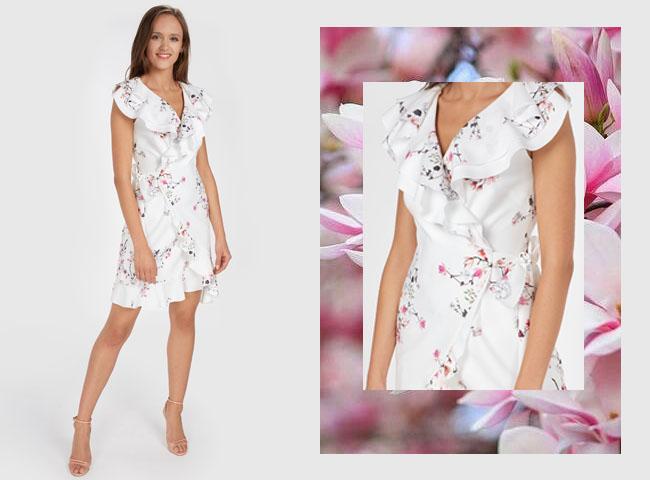 Co założyć żeby ukryć brzuch - sukienka CHIKO tuszuje brzuch aż na trzy sposoby