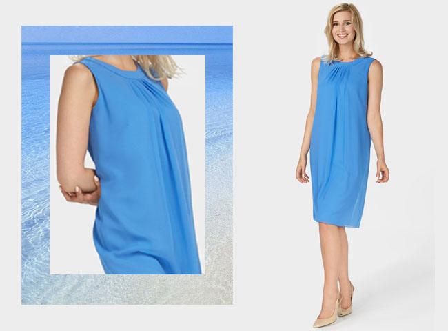 Co założyć żeby ukryć brzuch - sukienka DOLORES luźno opływa ciało