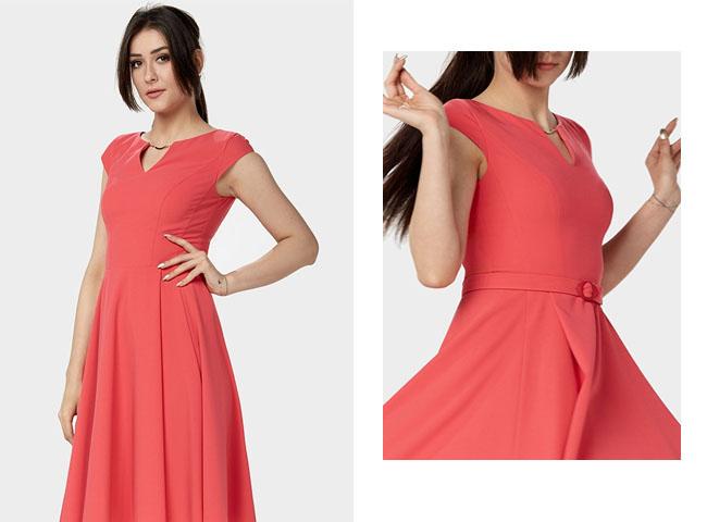 Jak ubrać się na koncert - sukienka ELENI świetnie wygląda w ruchu