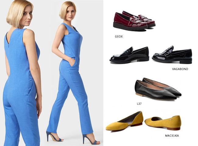 jak nosić kombinezon - propozycje obuwia do kombinezonu CELESTE