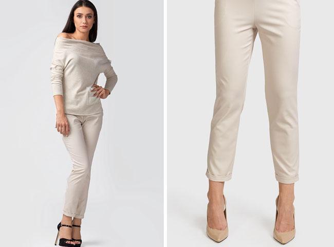 elegancko ale na luzie - spodnie SEJNY sprawdzą się w wielu stylizacjach