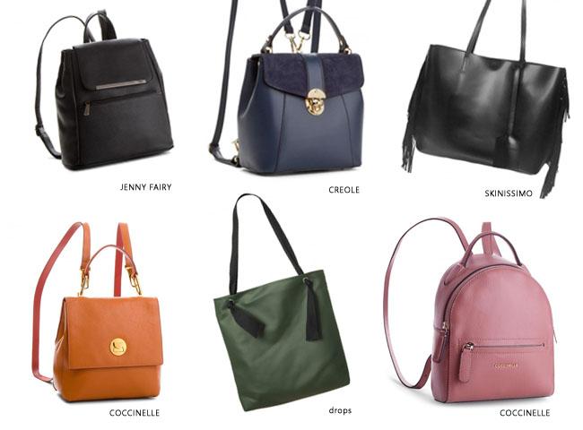 jak nosić kombinezon - zamiast torebki wybierz plecak