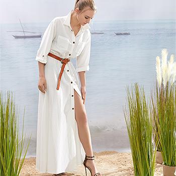 letnie długie sukienki